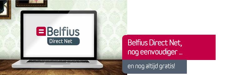 Belfius Direct Net: 100% gratis!